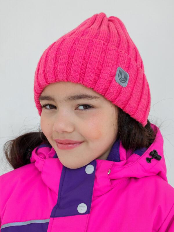 Шапка-луковка UKI kids Стильняшка розовый