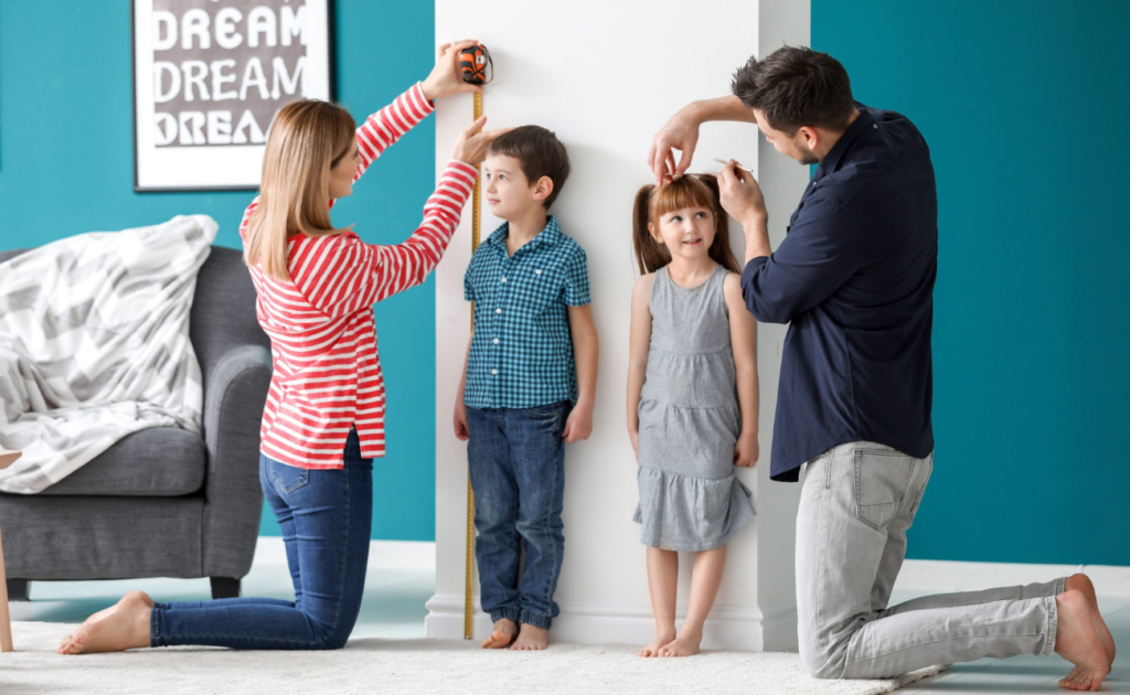 Как правильно определить размер одежды ребенка